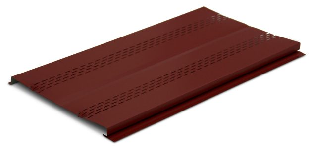 Steel Soffit Product So P001 Panel Side Angle