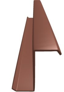 Zee Purlin Product Fze P003 Component Front Angle Red Oxide