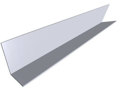 Angle Product Fba P004 Component Side Angle Galvanized