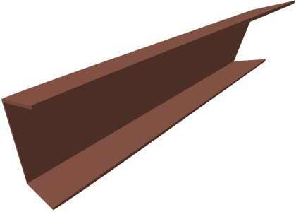 Channel Product Fch P001 Component Side Angle Red Oxide