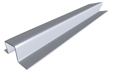 Hat Channel Product Fht P001 Component Side Angle Galvanized
