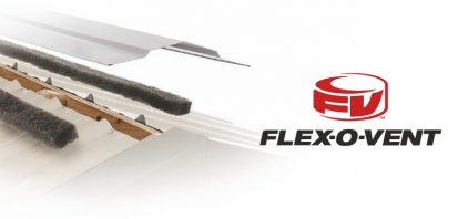 Installing Flex O Vent Ridge Vent