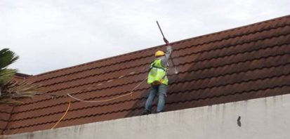 Cleaning Stone Coated Metal Roofing