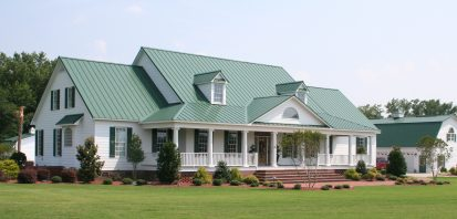 Image II Standing Seam in Green