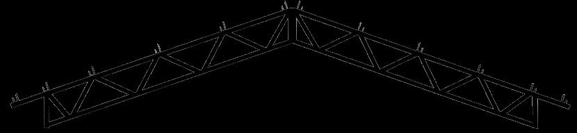 Steel Trusses Product Ftruss P002 Component Overhead Gable
