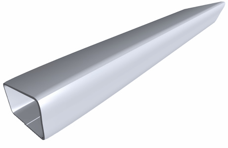 Steel Tubing Product Ftube P004 Component Side Angle Galvanized